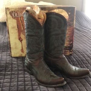 Like New, Old Gringo Lauren cowboy brown boots!